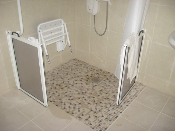 Walk in shower for disabled person - Grant works carried out by Old ...